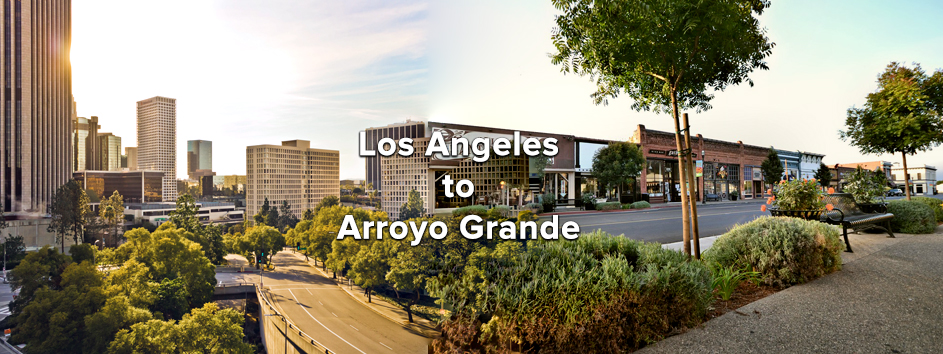Getting to Arroyo Grande from Los Angeles<