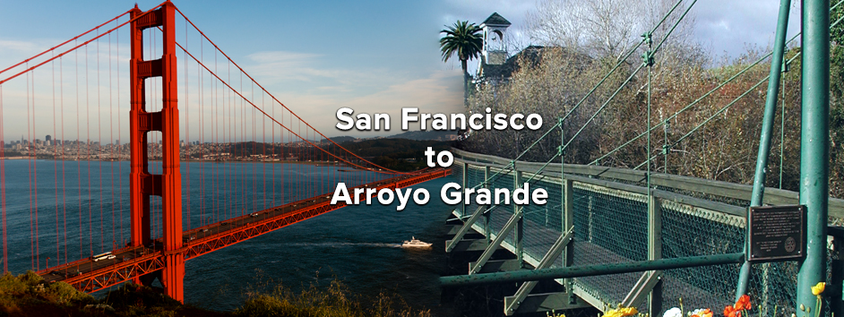 Getting to Arroyo Grande from San Francisco | Tourism, Directions, California Central Coast | Visit Arroyo Grande<